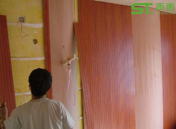 木质吸音板施工工艺