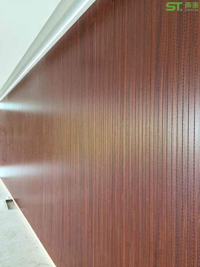 会议室墙面吸声板效果图|吸音板|吸音材料|吸音板